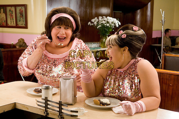 JOHN TRAVOLTA & NIKKI BLONSKY.in Hairspray  .**Editorial Use Only**.CAP/AWFF.Supplied by Capital Pictures