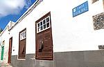 Historic buildings in town centre, Calle Otilia Diaz, Arrecife, Lanzarote, Canary Islands, Spain