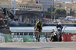 Adam Yates (GBR) Mitchelton-Scott during Stage 1 of the La Vuelta 2018, an individual time trial of 8km running around Malaga city centre, Spain. 25th August 2018.<br /> Picture: Eoin Clarke | Cyclefile<br /> <br /> <br /> All photos usage must carry mandatory copyright credit (&copy; Cyclefile | Eoin Clarke)