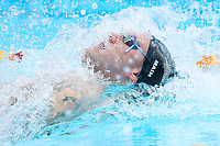 Picture by Alex Whitehead/SWpix.com - 05/04/2018 - Commonwealth Games - Swimming - Optus Aquatics Centre, Gold Coast, Australia - Corey Main of New Zealand competes in the Men's 100m Backstroke heats.