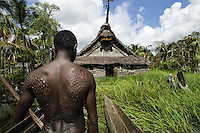 TThe Sepik River, Papua New Guinea.<br />