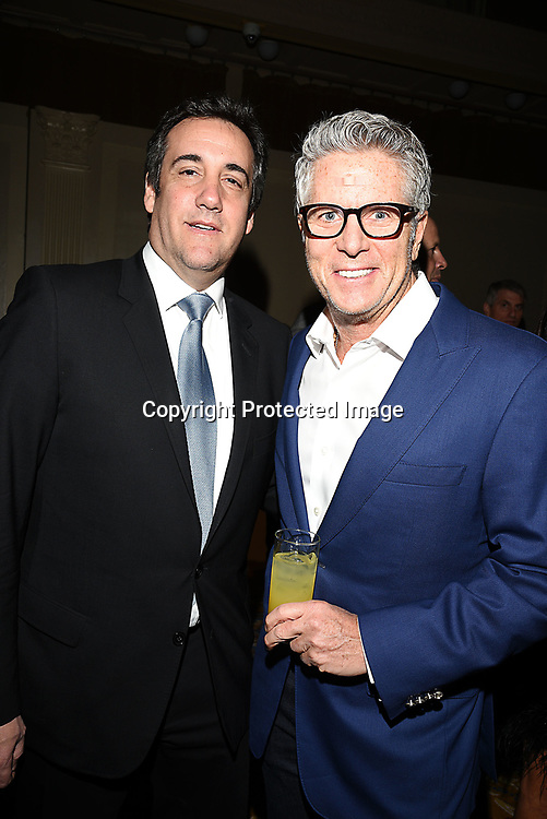 Michael Cohen and Donny Deutsch attend the Columbia Grammar & Prep School 2017 Benefit on March 8, 2017 at Cipriani Wall Street in New York, New York.