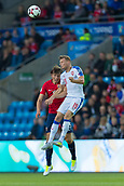 June 10th 2017, Ullevaal Stadion, Oslo, Norway; World Cup 2018 Qualifying football, Norway versus Czech Republic;  Ladislav Krejci of Czech Republic battles with  Sander Berge of Norway