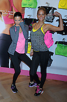 "Adriana Lima and Erin Heatherton at the Victoria's Secret ""VSX"" Launch - New York"