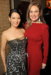 Lucy Liu and Becca Cason Thrash at a UNICEF fundraiser at Thrash's home Thursday Jan. 14,2010.(Dave Rossman/For the Chronicle)