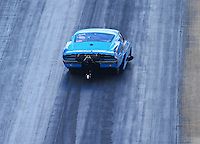 Jun 17, 2016; Bristol, TN, USA; NHRA pro mod driver Michael Biehle during qualifying for the Thunder Valley Nationals at Bristol Dragway. Mandatory Credit: Mark J. Rebilas-USA TODAY Sports
