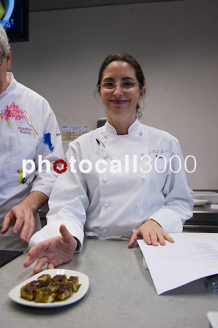 Elena Arzak imparte una  Masterclass en el Basque Culinary Center 14/02/2013