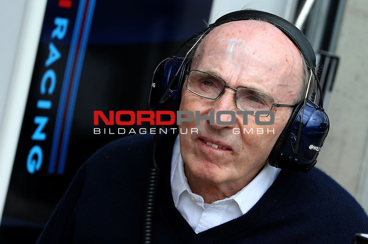 Sir Frank Williams (GBR), WilliamsF1 Team, Team Chief, Managing Director, Team Principal<br /> for the complete Middle East, Austria &amp; Germany Media usage only!<br />  Foto &copy; nph / Mathis
