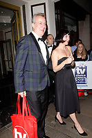 LONDON, ENGLAND - SEPTEMBER 10 :  Stephen Tompkinson leaves the TV Choice Awards 2018, at The Dorchester hotel, on September 10, 2018 in London, England.<br /> CAP/AH<br /> &copy;AH/Capital Pictures