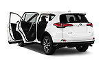Car images close up view of a 2017 Toyota RAV4 LE 5 Door SUV doors