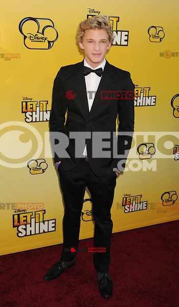 LOS ANGELES, CA - JUNE 05: Cody Simpson attends Disney's 'Let It Shine' Premiere held at The Directors Guild Of America on June 5, 2012 in Los Angeles, California.