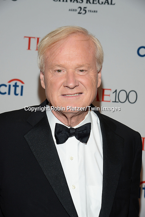 Chris Matthews  attend the TIME 100 Issue celebrating the 100 Most Influential People in the World on April 21, 2015 <br /> at Frederick P Rose Hall at Lincoln Center in New York City, New York, USA.<br /> <br /> photo by Robin Platzer/Twin Images<br />  <br /> phone number 212-935-0770