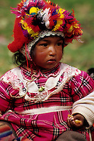 Willoq, Urubamba Valley, Peru - Quechua Girl
