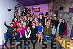 Lauren Pitman from Mitchels Ave celebrating her 18th birthday in the Greyhound Bar on Saturday night. Seated l to r: Joan Pitman, Luke Madichie, Sarah Raymond, Lauren Pitman and David Pitman.