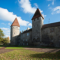 Old town wall, Tallinn, Estonia