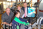 Pictured at the Link 2b Active Programme that enables unemployed people to use Gym facilities from left Cora Carraig, Co Ordinator Kerry Sports Partnership, Kevin O'Connor, Local Employmeny Service, Martha Slattery, Citizens Information and Ger Power, Social Protection.
