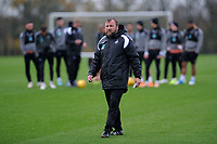 Billy Reid, assistant manager for Swansea during the Swansea City Training at The Fairwood Training Ground, Swansea, Wales, UK. Wednesday 07 November 2018