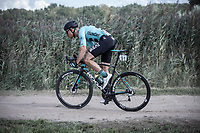 Martijn Budding (NED/Beat Cycling Club) riding a gravel sector<br /> <br /> Antwerp Port Epic 2019 <br /> One Day Race: Antwerp > Antwerp 187km<br /> <br /> ©kramon