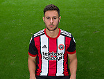George Baldock of Sheffield Utd during the 2017/18 Photocall at Bramall Lane Stadium, Sheffield. Picture date 7th September 2017. Picture credit should read: Sportimage