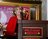 LOS ANGELES - AUG 21:  Barbara Eden at the Barbara Eden Tribute Exhibition Opening Night at the Hollywood Museum on August 21, 2019 in Los Angeles, CA