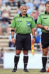 25 October 2015: Assistant Referee Brian Saucedo. The University of North Carolina Tar Heels hosted the Clemson University Tigers at Fetzer Field in Chapel Hill, NC in a 2015 NCAA Division I Women's Soccer game. UNC won the game 1-0.