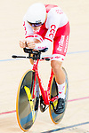 Szymon Sajnok of the Poland team competes in the Men's Individual Pursuit - Qualifying as part of the 2017 UCI Track Cycling World Championships on 14 April 2017, in Hong Kong Velodrome, Hong Kong, China. Photo by Marcio Rodrigo Machado / Power Sport Images