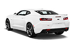 Car pictures of rear three quarter view of 2018 Chevrolet Camaro 2SS 2 Door Coupe Angular Rear