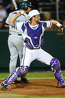Bryan Holaday (16) April 27th, 2010; NCAA Baseball action, Baylor University Bears vs TCU Horned Frogs at Lupton Stadium in Fort Worth, Tx;  TCU won 5-4 in extra innings.