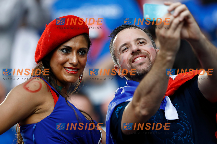 Tifosi Francia France supporters<br /> Paris 10-07-2016 Stade de France Football Euro2016 Portugal - France / Portogallo - Francia Finale/Finals<br /> Foto Matteo Ciambelli / Insidefoto