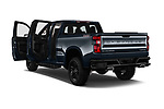Car images close up view of a 2020 Chevrolet Silverado 1500 Custom Trail Boss 4 Door Pick Up doors