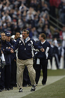 20 November 2004:  Joe Paterno..Penn State defeated Michigan State 37-13 November 20, 2004 at Beaver Stadium in State College, PA...