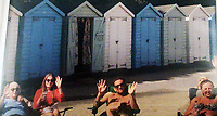 BNPS.co.uk (01202 558833)<br /> Pic: PhilYeomans/BNPS<br /> <br /> Matthew (centre) with his family at the huts in the 1990's.<br /> <br /> We will fight them for the beach huts...<br /> <br /> A group of hardy souls queued up a day early in the freezing cold to secure a sought-after beach hut for the summer.<br /> <br /> They have gone to extreme lengths to snap up the 15 timber cabins available at Avon Beach, Christchurch, Dorset.<br /> <br /> The first in the queue, Jan Ryder, was in position at 6.15am on Sunday, almost 26 hours before the administration office opened at 7.30am today.<br /> <br /> By the mid-morning, the group had already swelled to half a dozen who sat on deckchairs and sipped on tea while wrapped in blankets.<br /> <br /> Matthew Cox, 60, a mechanical engineer, was in position just before 7am. He remembers being taken to the beach by his late mother Margaret as a child and has queued up each year for a hut since her passing three years ago.