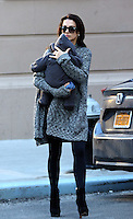 www.acepixs.com<br /> <br /> February 20 2017, New York City<br /> <br /> Hilaria Baldwin carries her son Rafael in her East Village neighborhood on February 20 2017 in New York City<br /> <br /> By Line: Zelig Shaul/ACE Pictures<br /> <br /> <br /> ACE Pictures Inc<br /> Tel: 6467670430<br /> Email: info@acepixs.com<br /> www.acepixs.com
