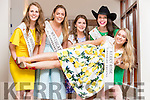 Niamh Moriarty, Westmeath Rose, Síle Reidy, Luxembourg Rose, Kristin Stack, New York Rose, Katherine O'Sullivan, Texas Rose and Danielle O'Sullivan, Kerry Rose at the Rose of Tralee Hotel on Tuesday Evening.