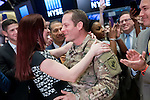 Army SSGT Chris Page returns from deployment 2.6.17