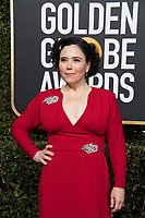 Golden Globe nominee Alex Borstein attends the 76th Annual Golden Globe Awards at the Beverly Hilton in Beverly Hills, CA on Sunday, January 6, 2019.<br /> *Editorial Use Only*<br /> CAP/PLF/HFPA<br /> Image supplied by Capital Pictures