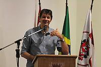 SÃO PAULO , SP - 28.02.2014 - POSSE DE SECRETARIOS DO VERDE E MEIO AMBIENTE E SUBPREFEITURAS  DA CIDADE DE SÃO PAULO -  O  Prefeito de São Paulo Fernando Haddad (PT) realiza a Solenidade de posse dos secretários Ricardo Teixeira (Subprefeituras) e Wanderley Meira do Nascimento (Verde e Meio Ambiente) na tarde desta Sexta-FeIra (28) ( Foto: Jorge Andrade Brazil Photo Press)