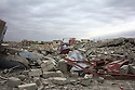 Iraq 2015 Scene of ruin in the suburbs of Sinjar after the liberation of the city  <br />