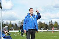 VOETBAL: JOURE: 30-04-2016, SC Joure - VV Mulier, uitslag 2-1, trainer Klaas de Jong, ©foto Martin de Jong