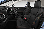 Front seat view of a 2018 Subaru XV Premium 5 Door SUV front seat car photos