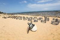 PRAIA DO FORTE, BA, 08.12.2013 - PROJETO TAMAR / PRAIA DO FORTE - Vista do Projeto Tamar na Praia do Forte litoral norte da Bahia, neste domingo, 08. (Foto: William Volcov / Brazil Photo Press).