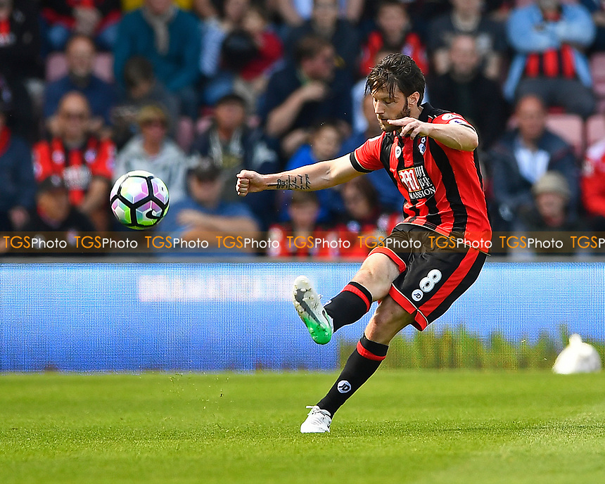 Harry Arter of AFC Bournemouth during AFC Bournemouth vs Burnley, Premier League Football at the Vitality Stadium on 13th May 2017
