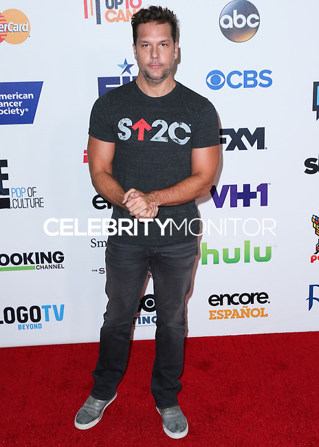 HOLLYWOOD, LOS ANGELES, CA, USA - SEPTEMBER 05: Dane Cook arrives at the 4th Biennial Stand Up To Cancer held at Dolby Theatre on September 5, 2014 in Hollywood, Los Angeles, California, United States. (Photo by Xavier Collin/Celebrity Monitor)