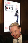 Michael Flatley honored with the unveiling of a street sign 'Flatley Way' outside the Lyric Theatre on 42nd Street in Times Square  on November 10, 2015 in New York City.