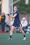 Santa Barbara, CA 02/18/12 - Shelby Baron (BYU #1) in action during the Arizona State vs BYU matchup at the 2012 Santa Barbara Shootout.  BYU defeated Arizona State 10-8.