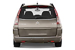 Straight rear view of a 2010 Citroen GRAND C4 PICASSO Millenium 5 Door Minivan 2WD