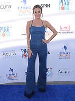 11 August 2016 - Los Angeles, California. Keltie Knight. Clayton Kershaw's 4th Annual Ping Pong 4 Purpose Celebrity Tournament held at Dodger Stadium. Photo Credit: Birdie Thompson/AdMedia