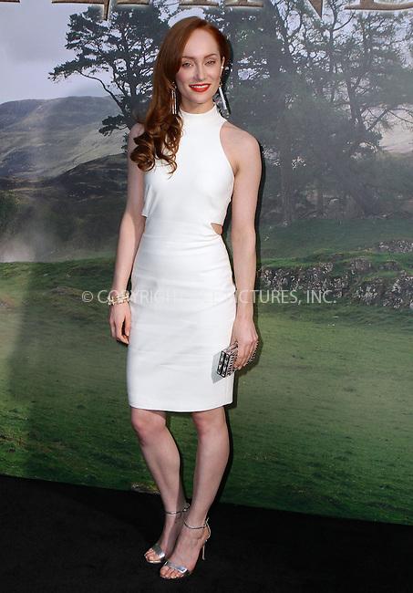 WWW.ACEPIXS.COM<br /> <br /> April 1 2015, New York City<br /> <br /> Actress Lotte Verbeek arriving at the 'Outlander' mid-season New York premiere at Ziegfeld Theater on April 1, 2015 in New York City.<br /> <br /> By Line: Nancy Rivera/ACE Pictures<br /> <br /> <br /> ACE Pictures, Inc.<br /> tel: 646 769 0430<br /> Email: info@acepixs.com<br /> www.acepixs.com