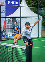 Den Bosch, Netherlands, 16 June, 2018, Tennis, Libema Open, Semifinal Doubles Padel<br /> Photo: Henk Koster/tennisimages.com