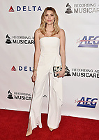 LOS ANGELES, CA - FEBRUARY 08: Arielle Vandenberg attends MusiCares Person of the Year honoring Dolly Parton at Los Angeles Convention Center on February 8, 2019 in Los Angeles, California.<br /> CAP/ROT/TM<br /> &copy;TM/ROT/Capital Pictures